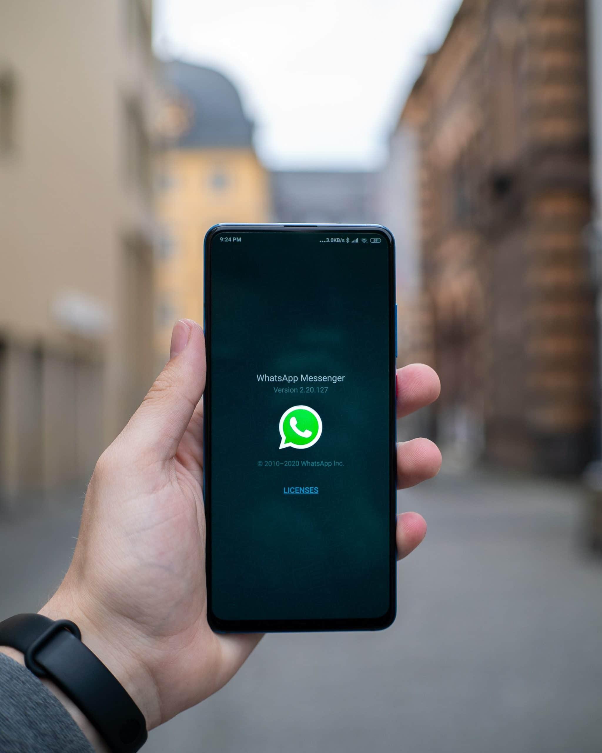 Whatsapp jij al met een recruiter?